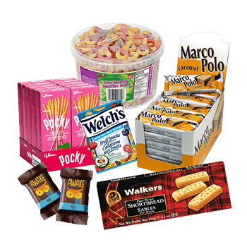 hoppier delivers bulk candy and cookies