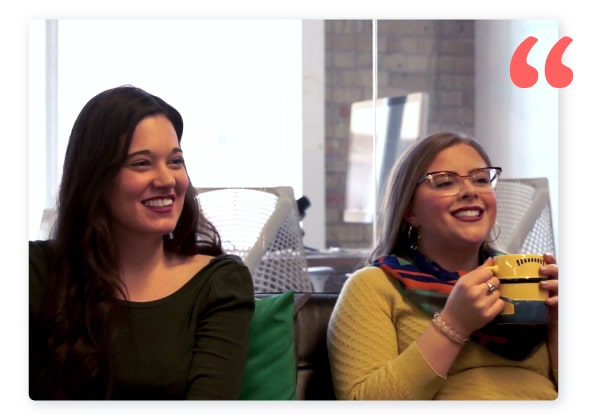 Office employees from 500px speaking about the benefits of Hoppier office snack delivery service.
