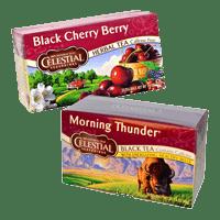 Hoppier's office coffee service includes Celestial black teas
