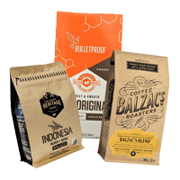 Our office coffee distributors include Balzac's Coffee Roasters blend, Bulletproof sweet & smooth blend and Calgary heritage whole bean coffee