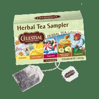 Hoppier's office coffee service includes Celestial assorted tea