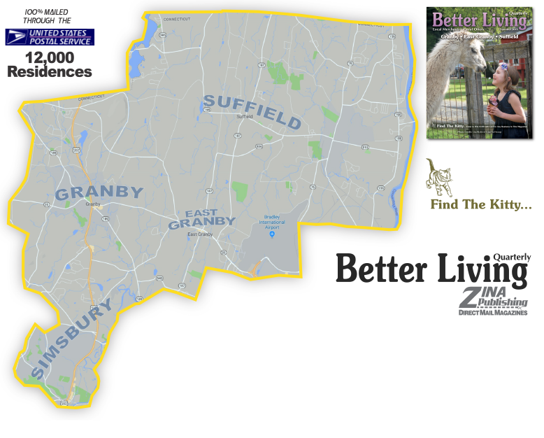 Granby CT Coverage map