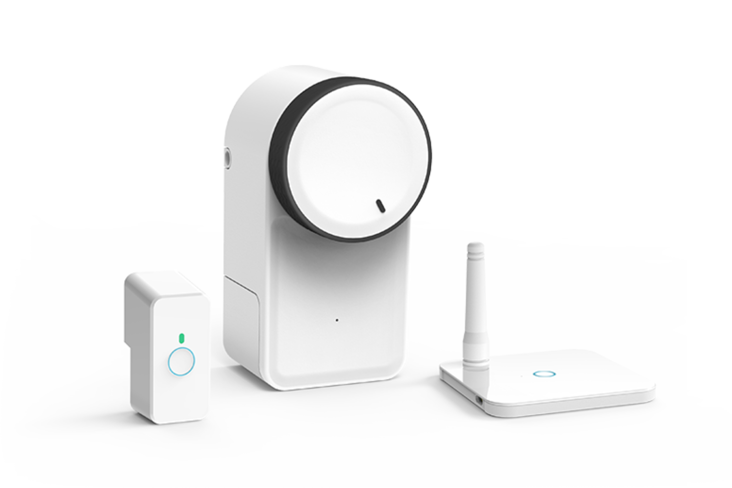 Keymitt Smart Lock, Wifi Hub and Push