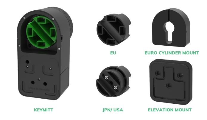 smart lock adapter set