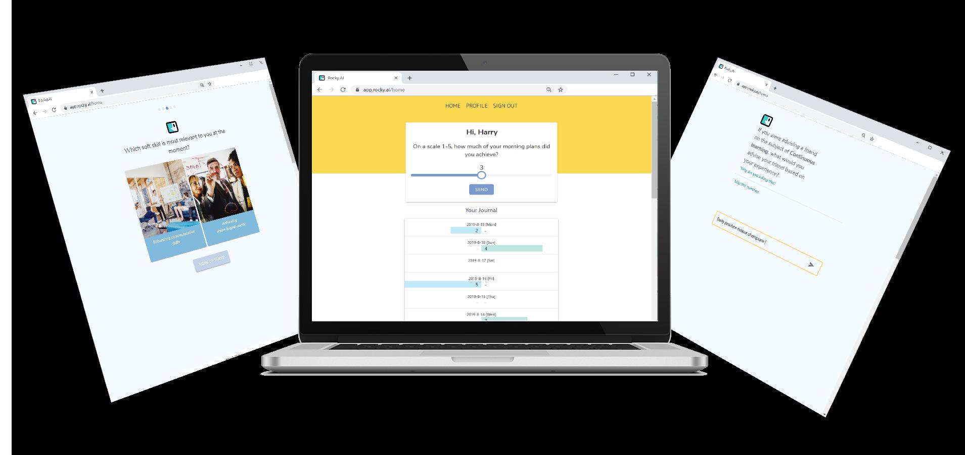ROCKY.AI App - AI Chatbot, Coach, Assistant, Leadership
