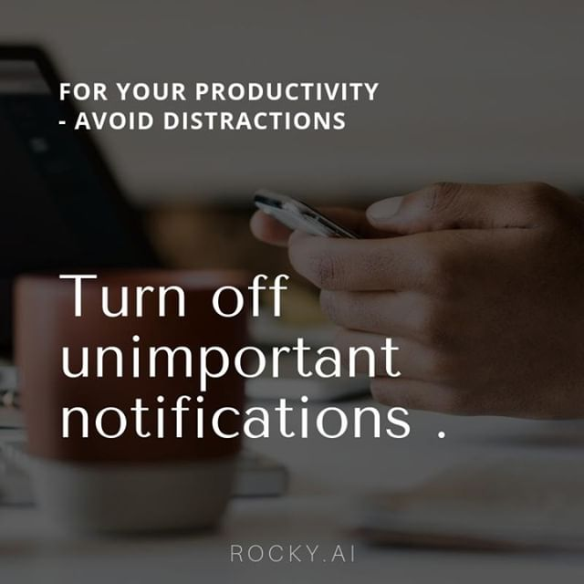 How much time do you spend on your smartphone daily? Are you losing your valuable time looking at your phone? Our time is limited throughout the day. How can we solve this?⁣ ⁣ ⁣ A good rule of thumb is to turn off all notifications except those that enable direct communication with people