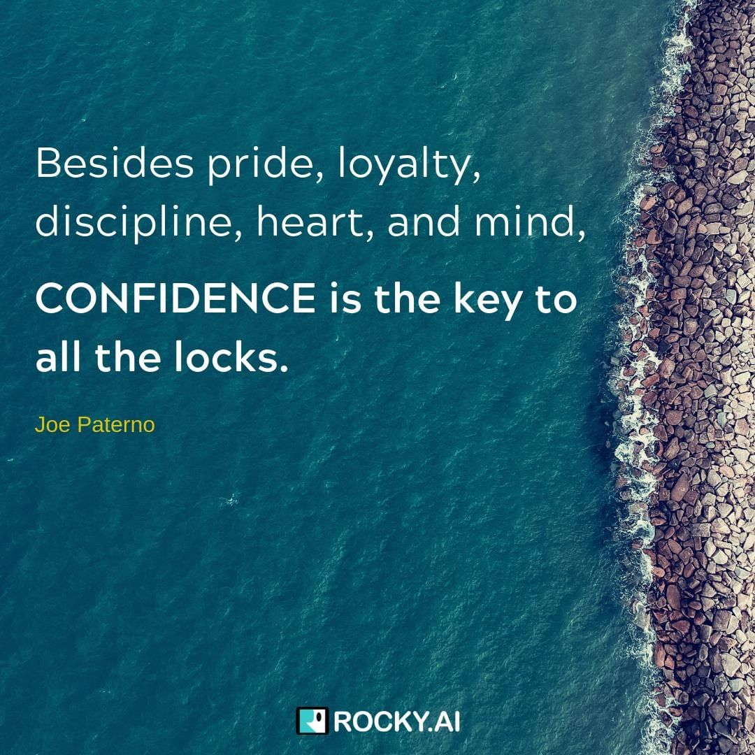 Self-confidence can be learned and is the key to resilience. What do you think are good ways to practice confidence? . #focus #leadership #entrepreneur #business #success #inspiration #work #entrepreneurlife #entrepreneurship #businessowner #entrepreneurquotes #entrepreneurlifestyle #mindset #startuplife #goals #quoteoftheday #tech #startups #grind #leadershipdevelopment #personalgrowth #leadershipcoach #mindsetiseverything #conciousculture #alwayslearning #selfdevelopment #leadbyexample #businesscoach #femaleentrepreneur #lifecoach