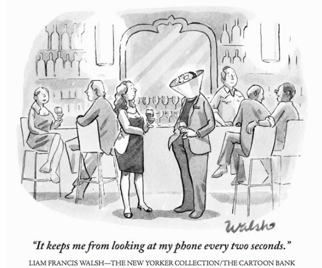 Which rule will you apply for yourself to avoid distraction today? 😉 #highperformer #YouAreTheHero ⁠⠀. Credit to @newyorkercartoons