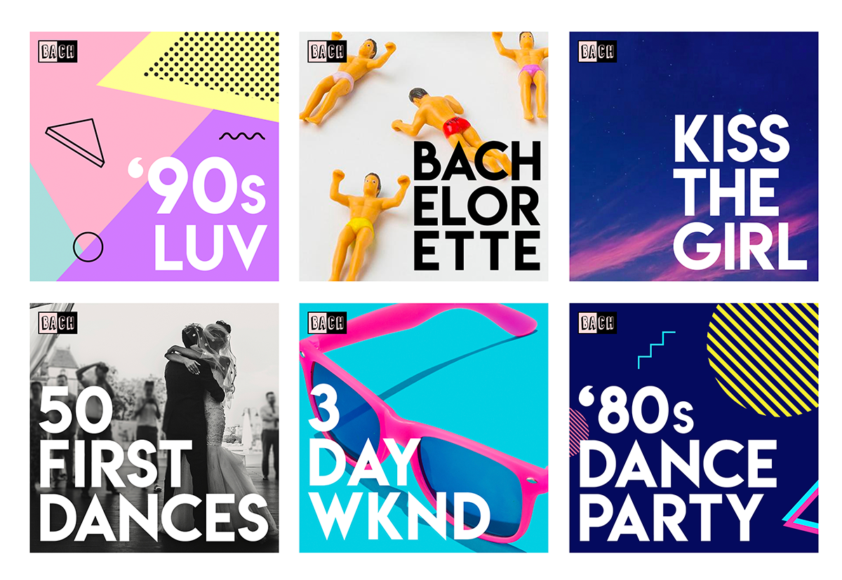 BACH Party Playlists