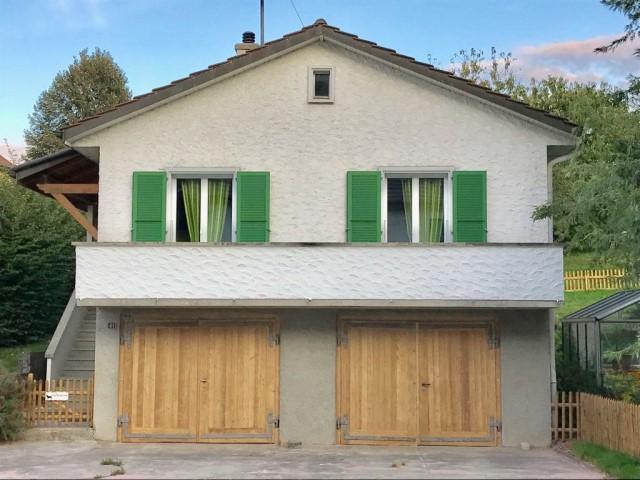 Microgommage de crépis et de portes de garage