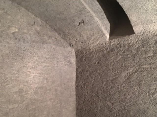 Gommage de façades d'une cave