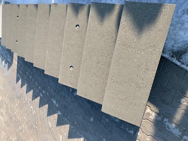 Sablage béton d'escalier