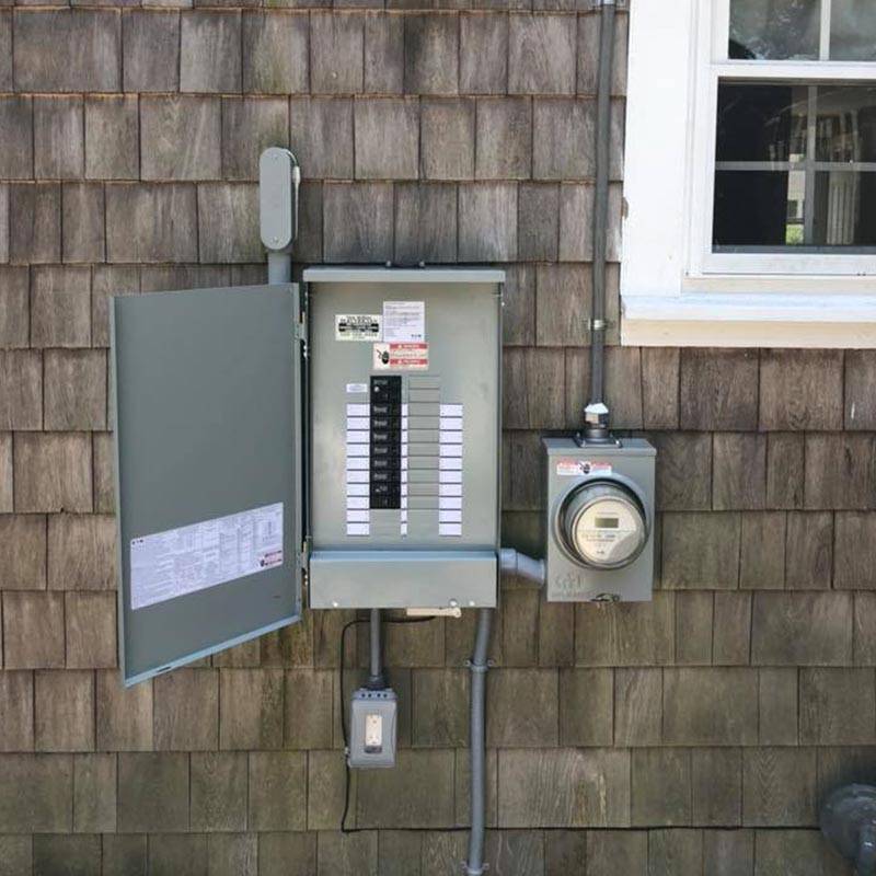 Service panel upgrade in Cape Cod, MA
