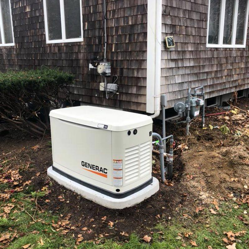 GENERAC® Generator installation by Cape Cod Electrical