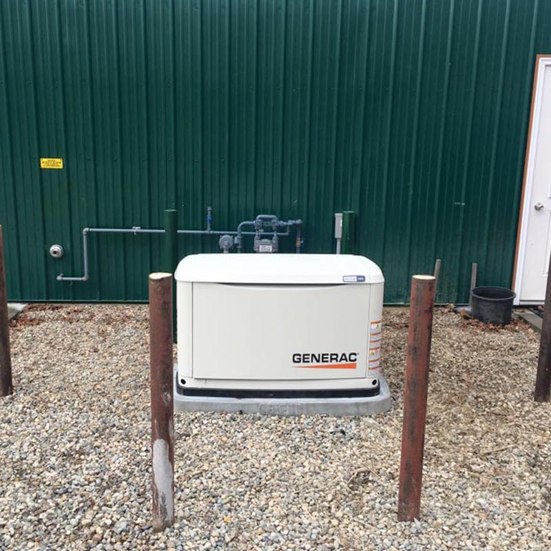 Generator installation in Cape Cod, MA