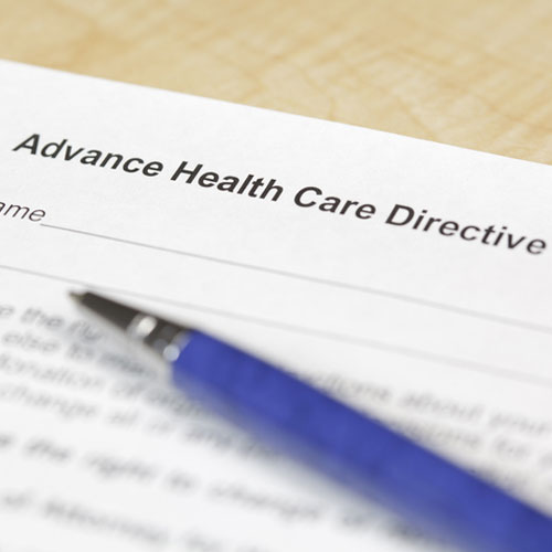 California Advance Healthcare Directive