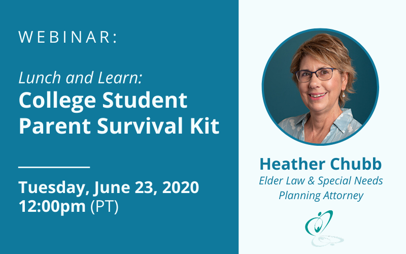 Lunch & Learn: College Student Parent Survival Kit