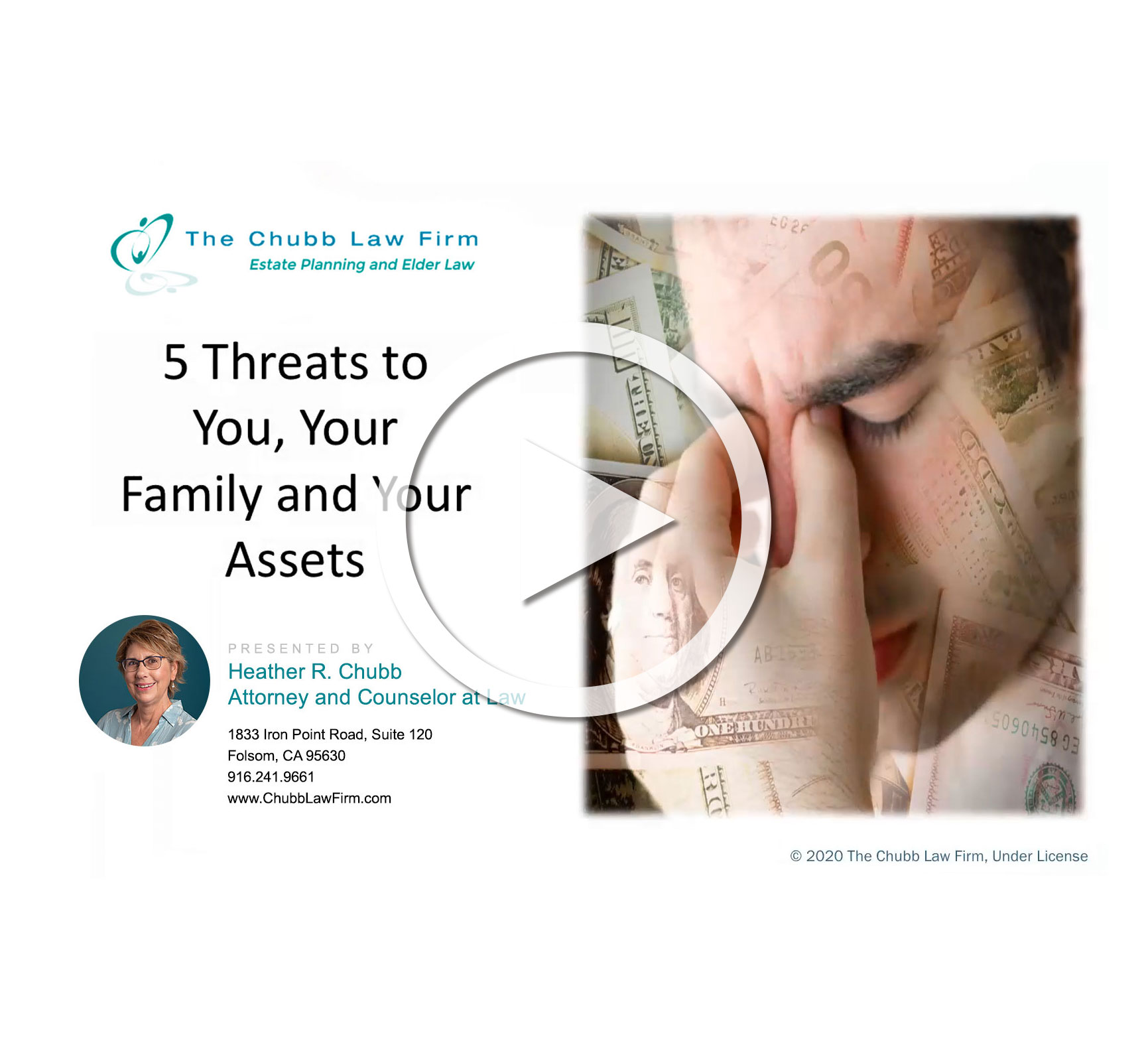 Seminar: 5 Threats to You, Your Family, and Your Assets
