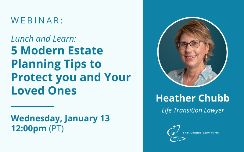 Lunch & Learn: 5 Modern Estate Planning Tips to Protect you and Your Loved Ones