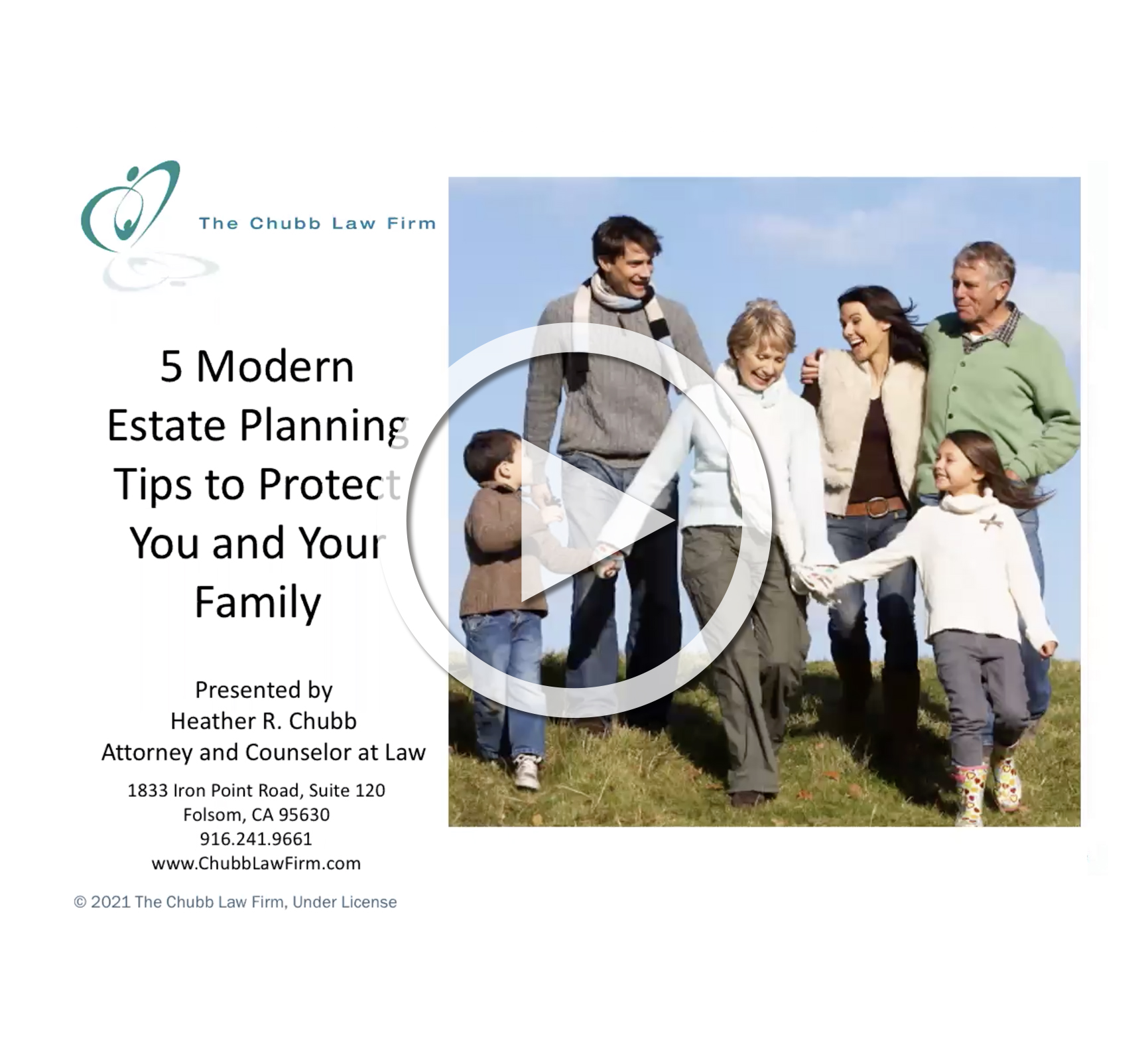 Webinar: 5 Modern Estate Planning Tips to Protect You and Your Loved Ones