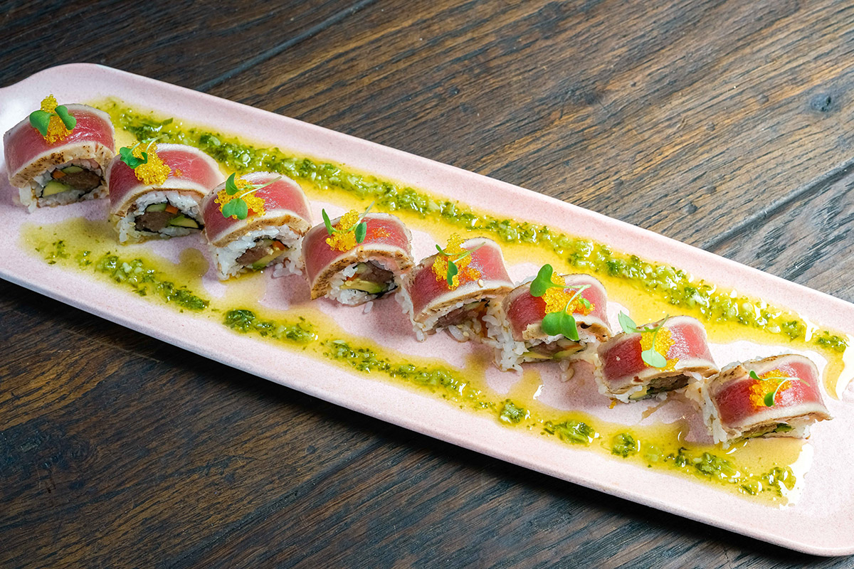 Beginning Saturday we'll be offering Bluefin Tuna in place of our frequent Yellowfin tuna!