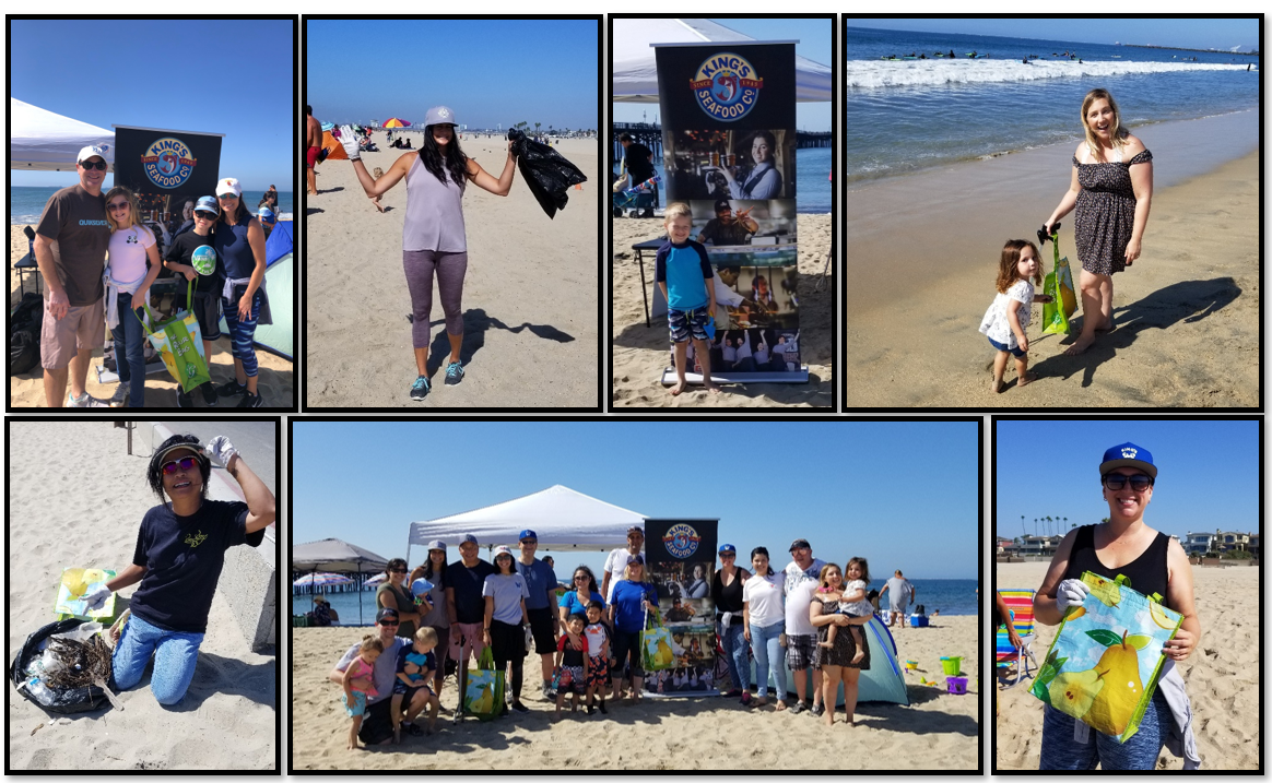 Each year we gather together to clean up our ocean's beaches in order to preserve and protect our oceans, waterways, and families.