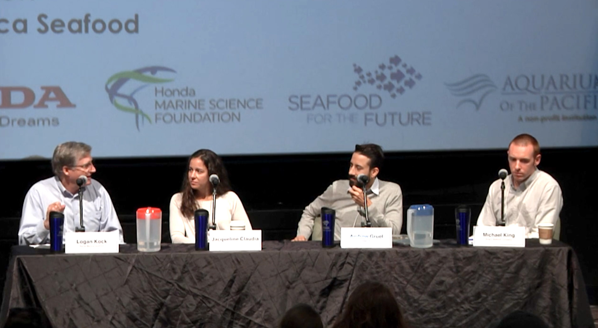 Watch Michael King, Andrew Gruel and others discuss the inner workings of the Seafood industry