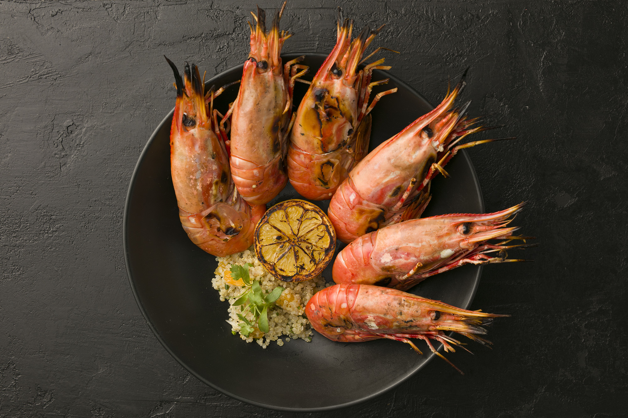 The Spot Prawn is a true California treasure when enjoyed fresh from the live tank.