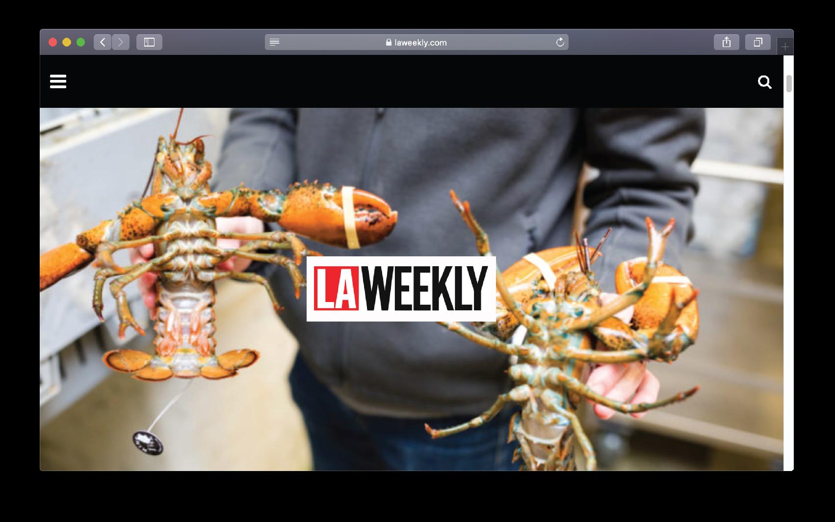 LA Weekly Article