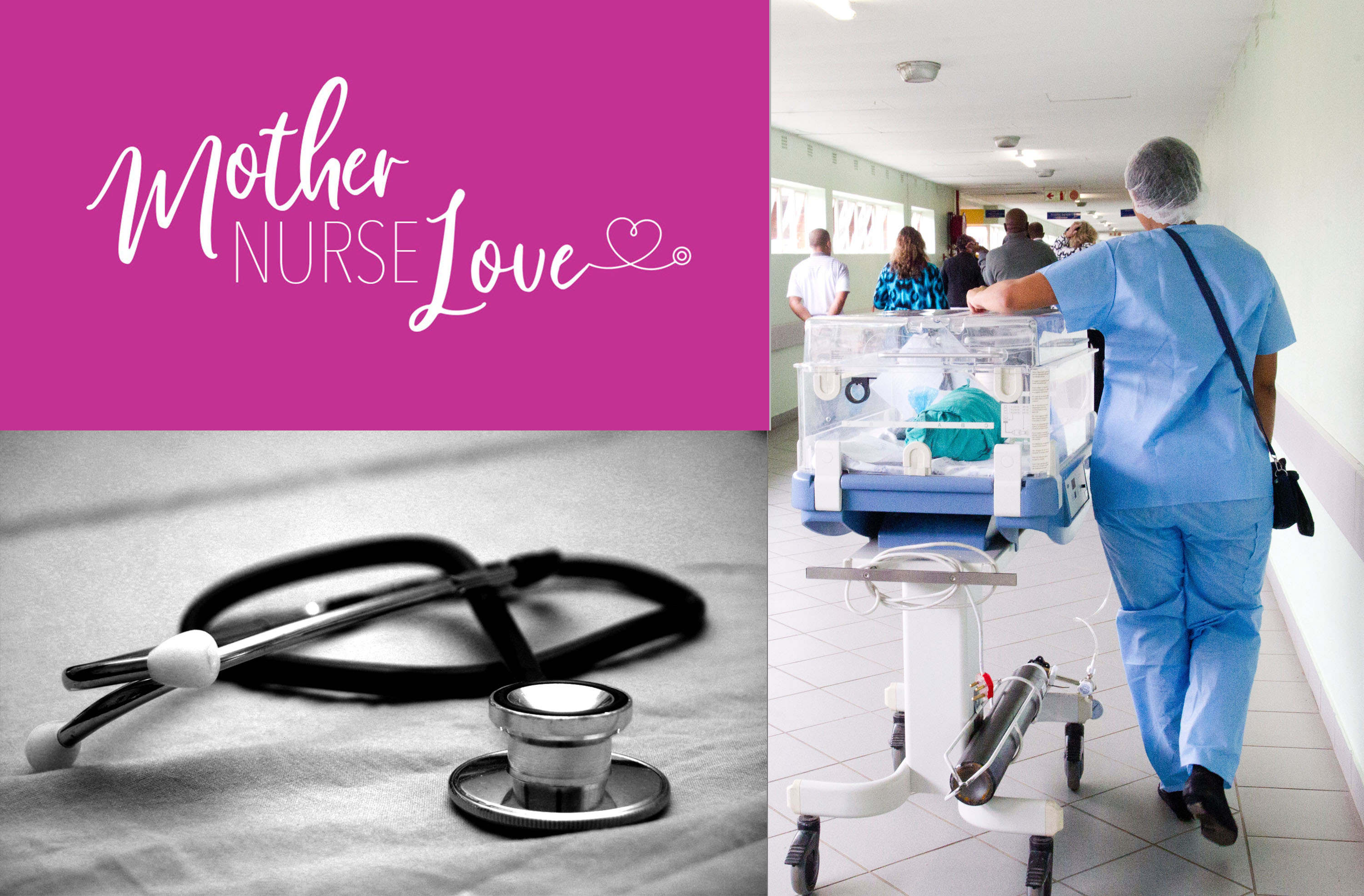 Inscape Designs Brand Identity for Mother Nurse Love