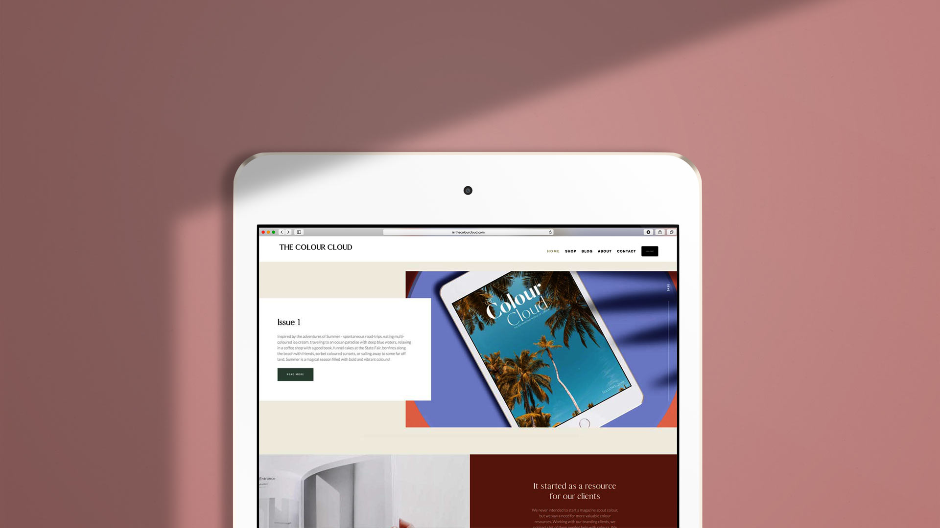 The Colour Cloud is a Digital Magazine dedicated to the power of color on our culture.