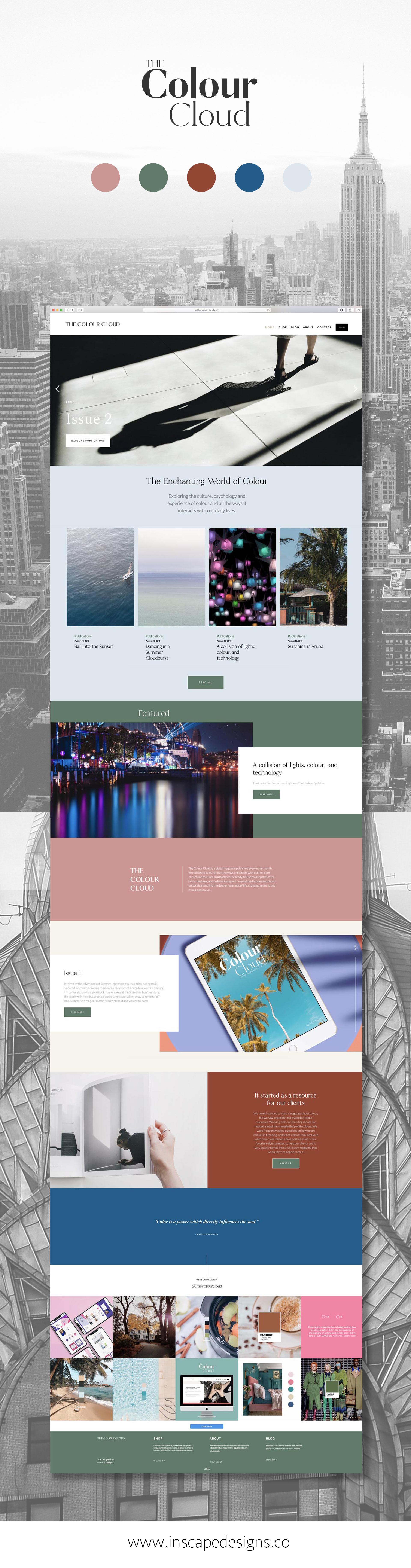 The Colour Cloud Magazine