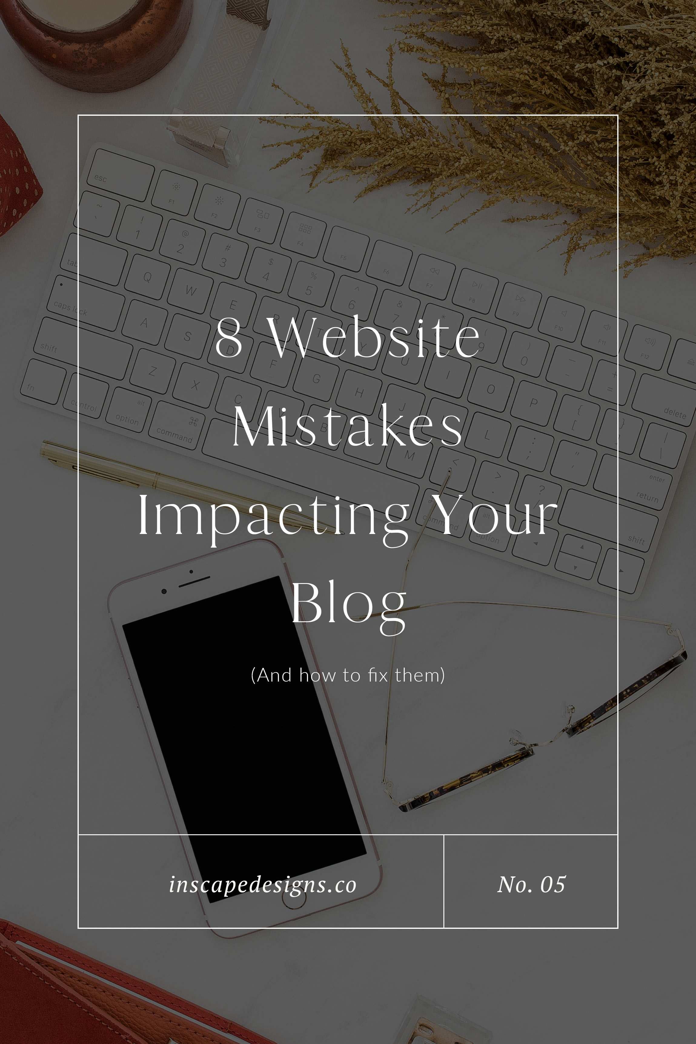 website mistakes impacting the success of your blog