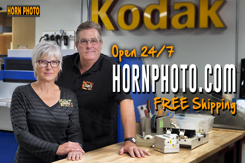 HORNPHOTO.COM is Open