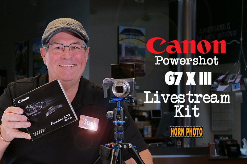 CANON POWERSHOT G7 X MARK III LIVESTREAM KIT