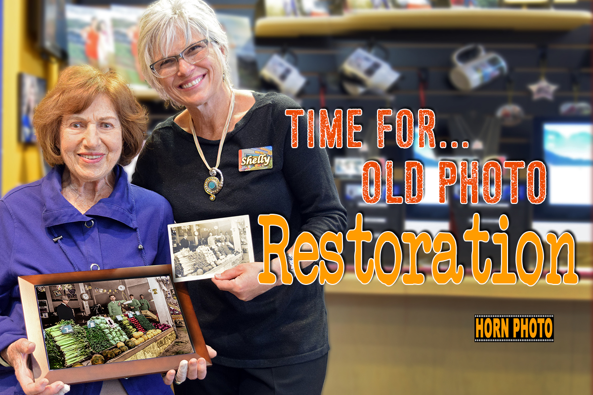 PHOTO RESTORATION IN FRESNO, CALIFORNIA