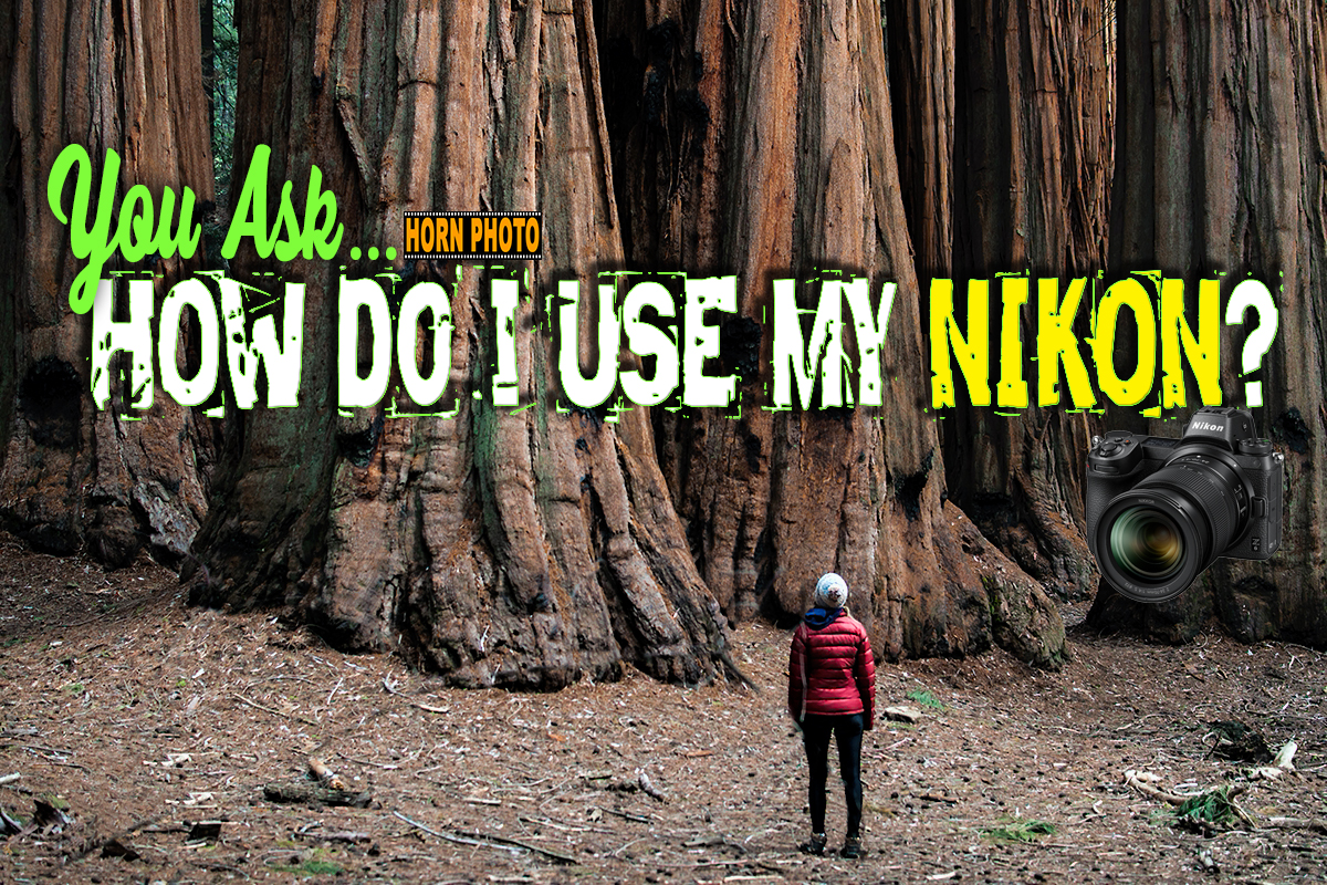 HOW DO I USE MY NIKON?