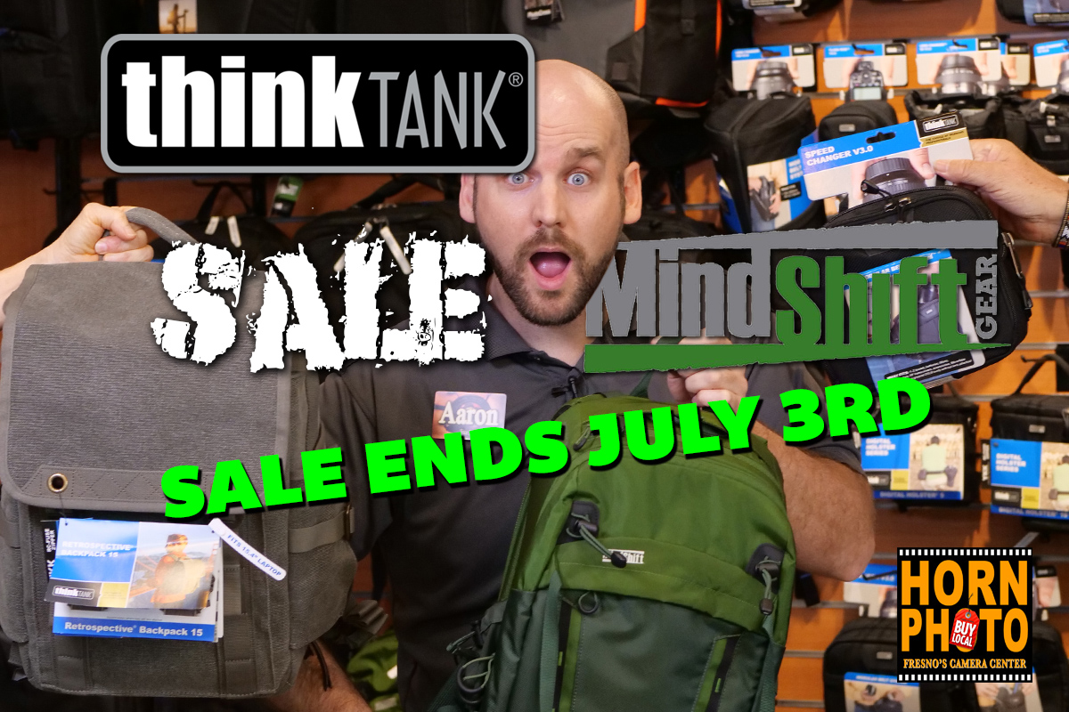 THINK TANK & MIND SHIFT CAMERA BAG SALE