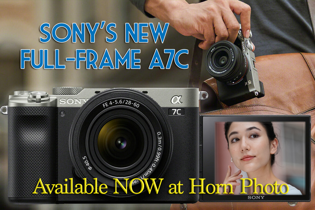 SONY'S NEW FULL FRAME a7C