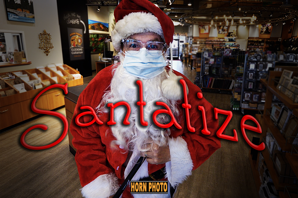 WE Santatize FOR YOUR SAFETY