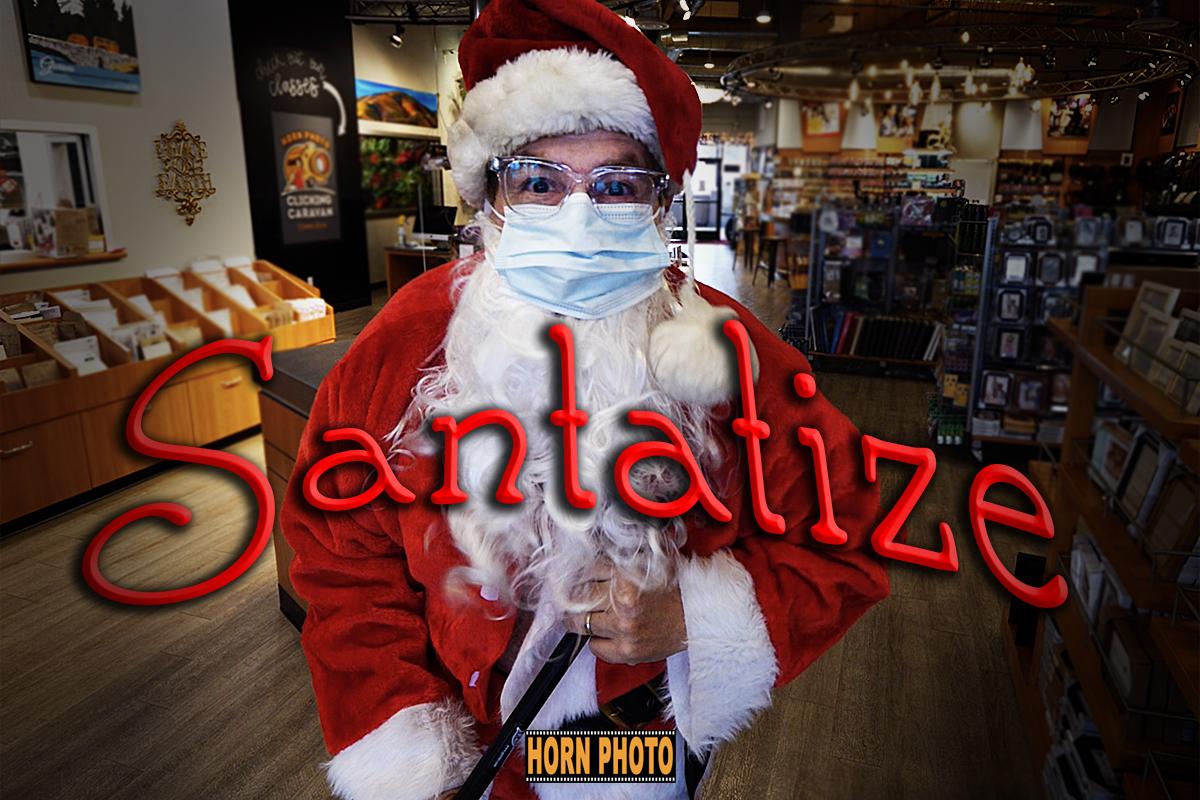 WE Santatize FOR YOUR SAFETY