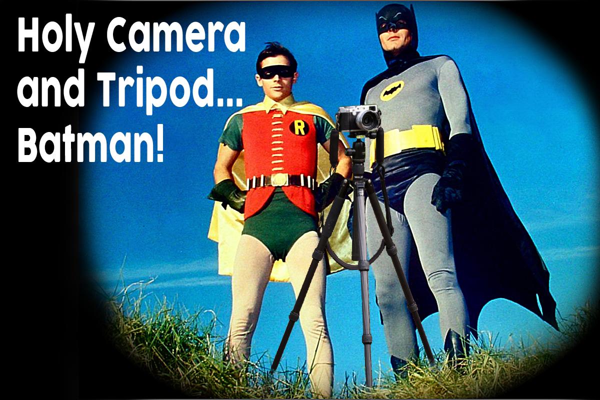 A Dynamic Duo - Camera and Tripod