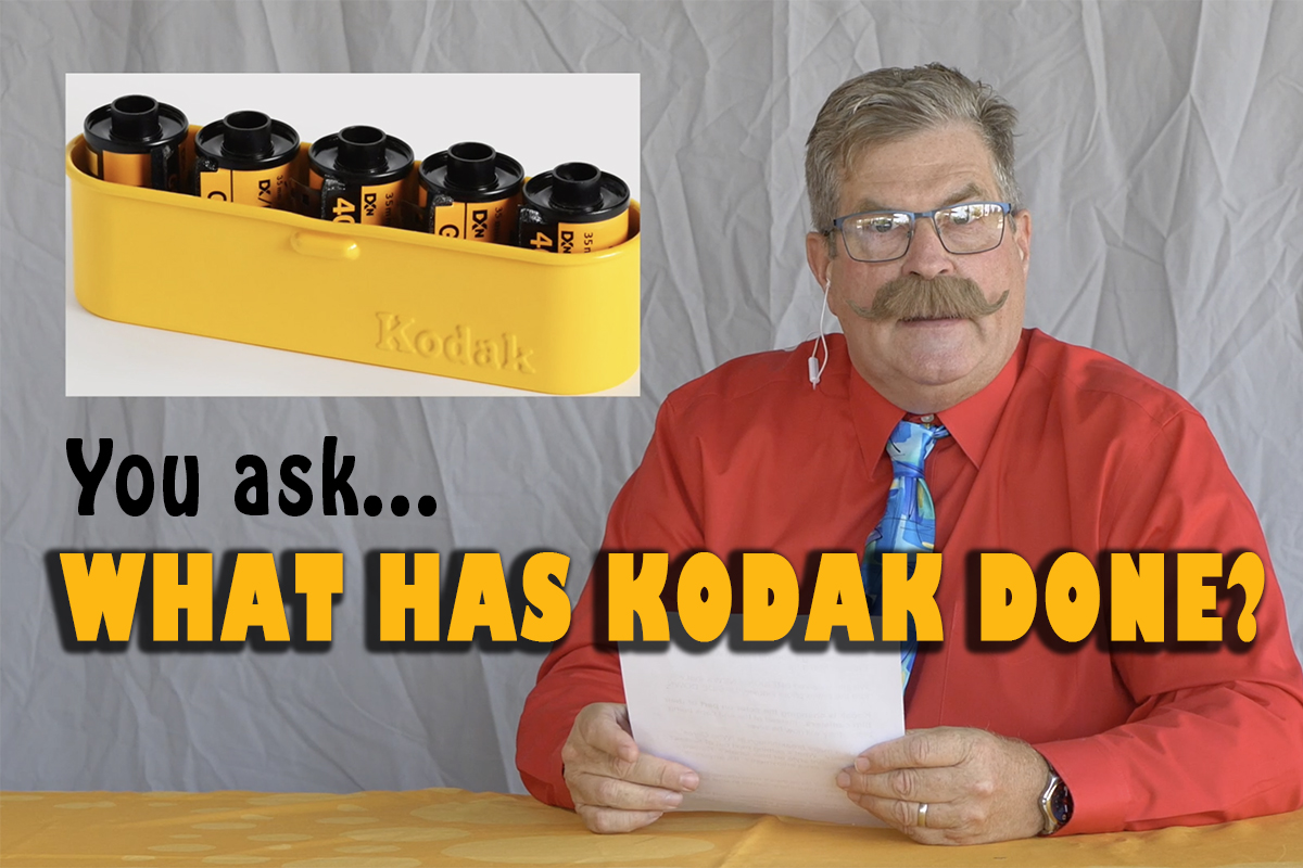 WHAT HAS KODAK DONE? HOW CAN THIS HAPPEN? WILL THIS CHANGE EFFECT MY FILM?