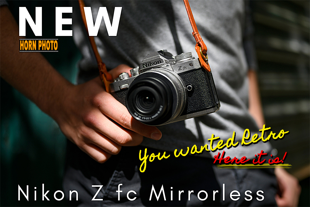 WHY SHOULD I GET THE NEW NIKON Z fc?
