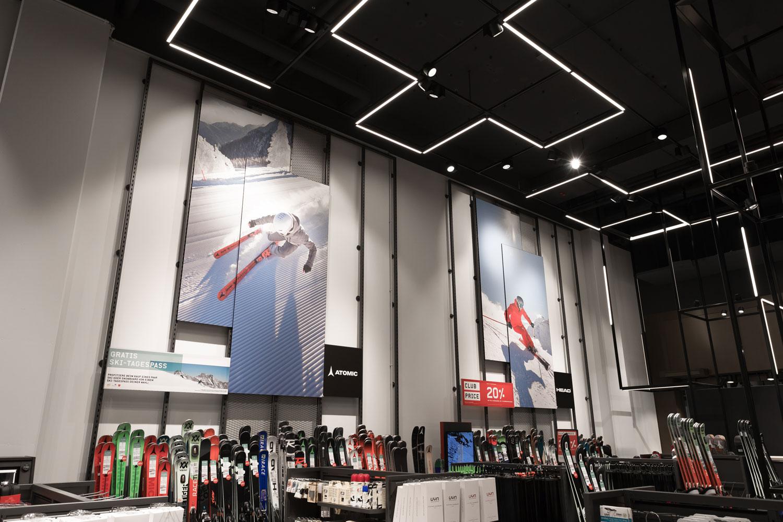 Textilbilder – Ochsner Sport, schweizweit