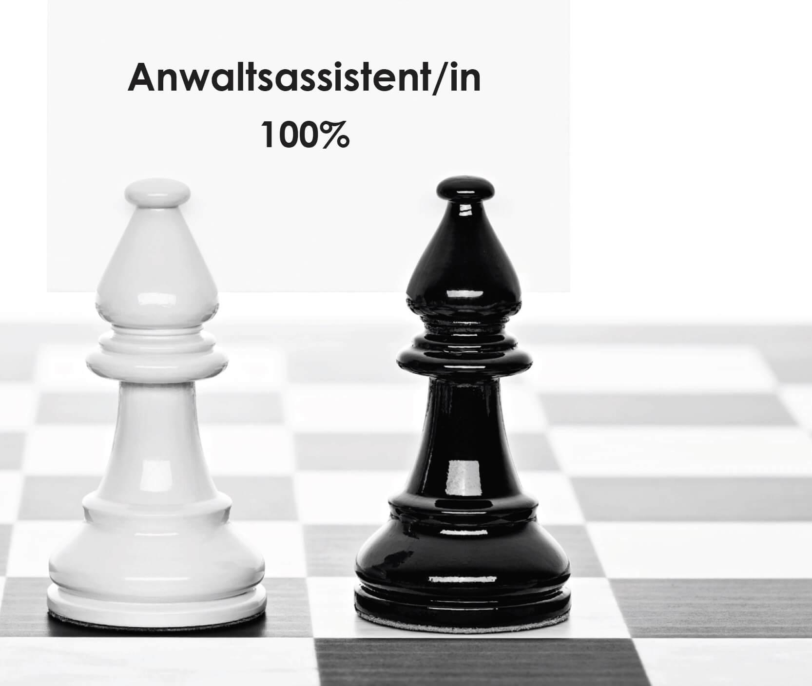 Anwaltsassistent/in (100%)
