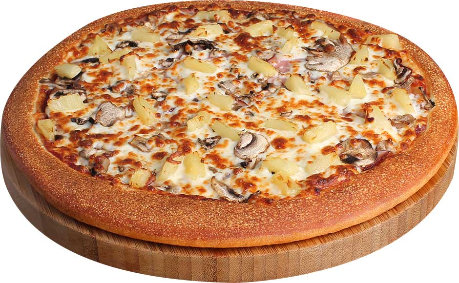 Ham, Mushrooms, & Pineapple