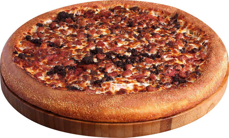 Pepperoni, Lean Beef, & Bacon