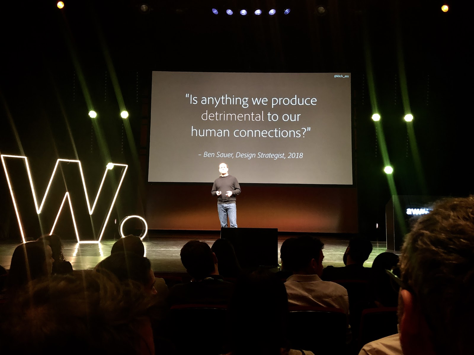 Speaker at 2019 Awwwards Conference in Amsterdam