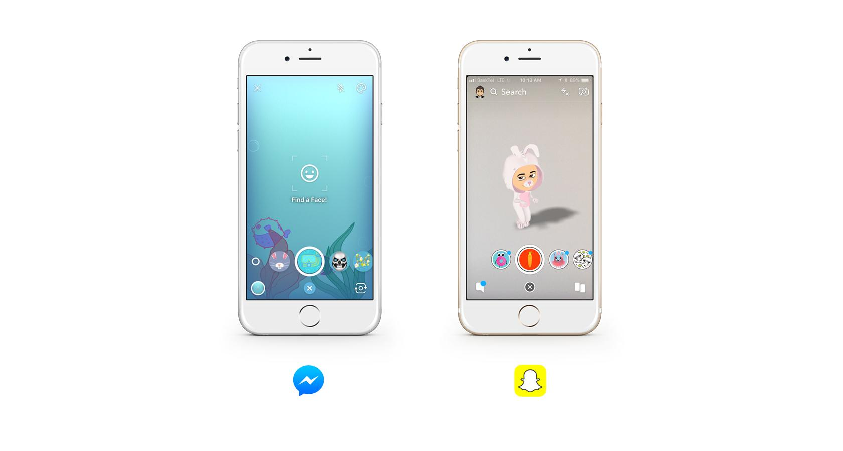 how facebook mirrores snapchat